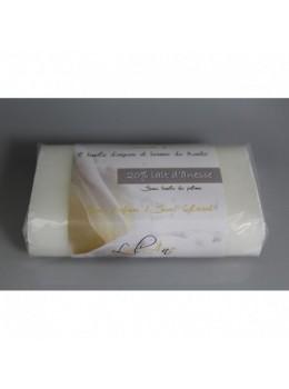 Savon 125gr - sans Parfum / sans colorant au lait d'ânesse