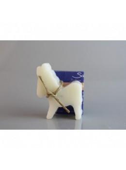 Mini savon lavande au lait d'ânesse