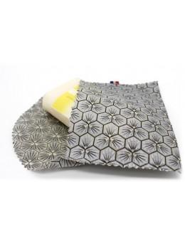 Pochette de voyage à savon - imperméable - gris argenté