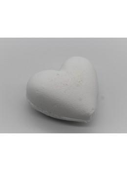 Bombe de bain Coeur  Noix de coco