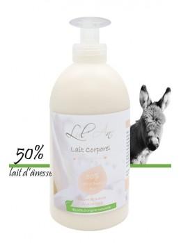 Format familial : Lait corporel sans parfum 50% LAIT D'ANESSE - 500ml