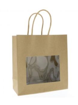 sac à fenêtre kraft